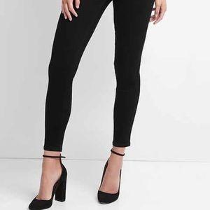 Gap 1969 Black Skinny Legging Jeans